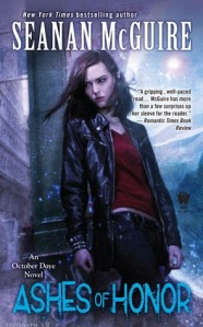 Seanan McGuire's Ashes of Honor Cover