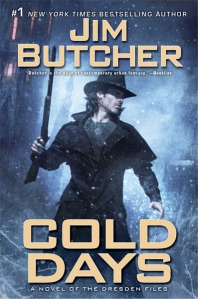 Jim Butcher's Cold Days Cover